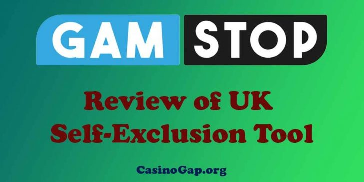 Review of UK Self-Exclusion Tool Gamstop
